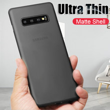 Luxury Ultra Thin 0.26mm PP Case On The For Samsung Galaxy S8 S9 S10 Plus S10E Case Cover For Note 8 9 10 Pro PC Shockproof Case(China)
