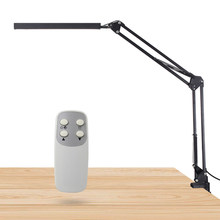 Afstandsbediening Swivel Arm Clip-Op Tafel Bureaulamp Oogbescherming Swing Arm Clamp Mount Lamp Voor Office Home tafel Armatuur(China)
