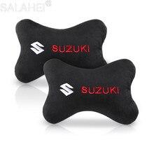 Car Neck Pillows head support protector universal headrest backrest cushion For Suzuki Grand Vitara Swift For Car Accessories