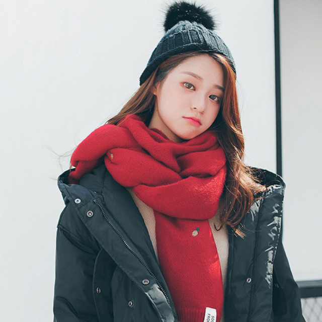 Фото осень зима 2020 новый двухсторонний шарф из искусственного кашемира цена