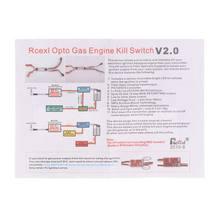DLA RCEXL silnik gazowy Opto Kill przełącznik DLA DLE DA odcięcie zapłonu AXYA