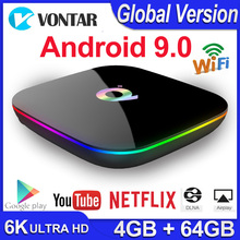 Q Plus Android 9.0 TV Box Smart TV