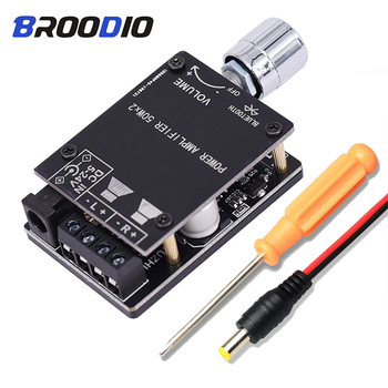 Bluetooth 5.0 Amplifier Board Dual Channel 2*50W Mini Stereo Audio Receiver High Power Digital 3.5mm AUX HIFI Amplificador nobsound 320w wireless power amplifier hifi stereo digital amp bluetooth audio receiver