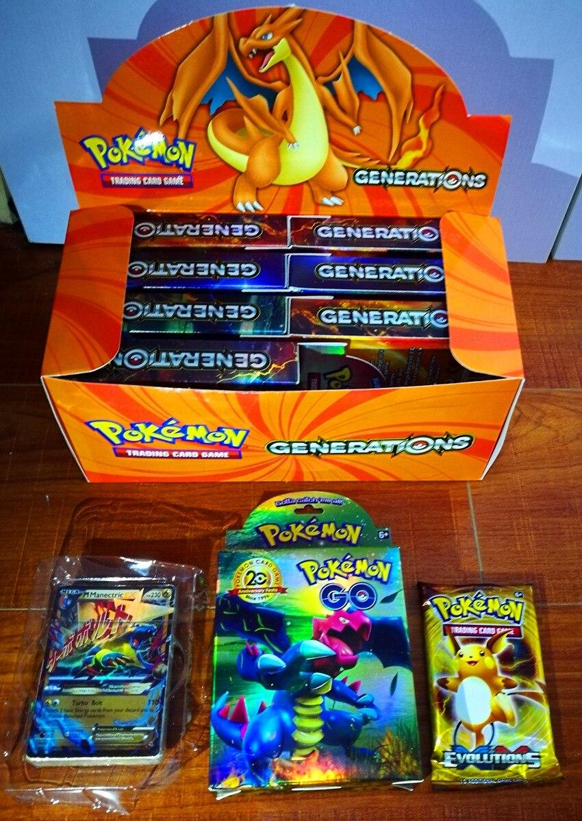 408pcs TAKARA TOMY Pet Pokemon Cards  High-end Gift Box Pokemon Cards   The Toy Of  Children