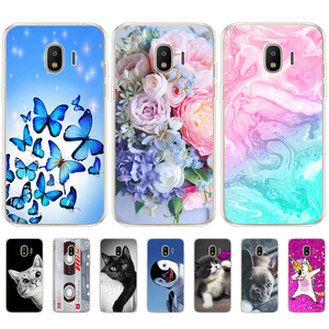 Image 1 - TPU Phone Cases for samsung J2 2018 case Slicone Fashion back cover for Samsung Galaxy j2 2018 SM J250F case New design