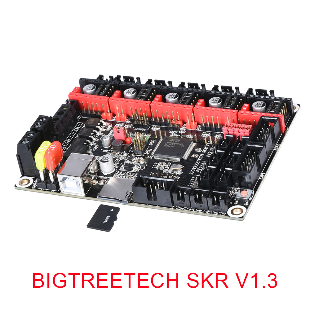 BIGTREETECH SKR V1.3 3D Printer Controller Board ARM 32 Bit Mainboard TMC2208 Compatible Smoothieboard Marlin 3d Printer Parts