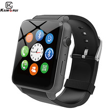 Smart Watch SIM Card with camera TF Pedometer Heart Rate Sport Watch men Smartwatch Android For xiaomi huawei IOS Phone(China)