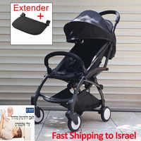 Élégant bébé poussette lumière pliant amortisseur chariot bébé poussette pour voyage adapté 4 saisons pour enfant