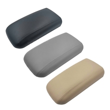 Auto Center Console Armrest Box Cover Leather Lid Seat Protective Pad For Chevy Trailblazer GMC Envoy Isuzu Ascender 25998838