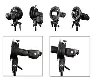 Image 5 - Godox S Type Durable plastics Bracket Bowens Mount Holder for Speedlite Flash Snoot Softbox Photo Studio Accessories