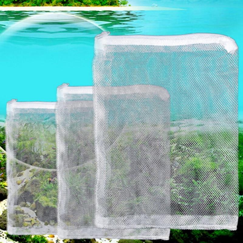5 шт. аквариума пруд мешок сетчатого фильтра чистая изоляции мешок фильтрации носки приемный микрон аквариум морских рифов сетки сетка