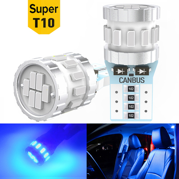 2Pcs T10 W5W LED Canbus LED Bulb Side Position Parking Lights for BMW E60 E90 F10 F30 Audi A4 B8 Ford Focus 2 mk2 VW Golf 4 7 image