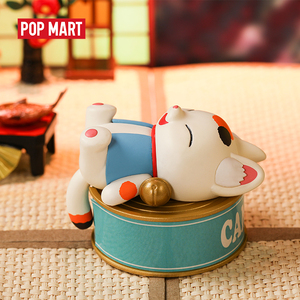 POPMART Konatsu Ling-Can Cat Friends series Toys figure Action Figure blind box Birthday Gift Kid Toy animal story toys figures(China)