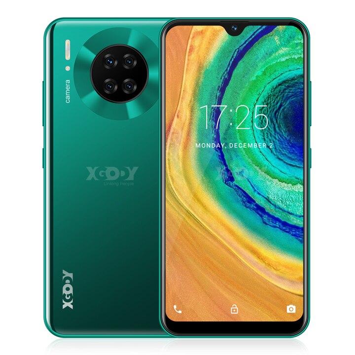 XGODY Mate 30 4G Smartphone Android 9.0 6.26inch 19:9 Full Screen 3GB 32GB MTK6737 Quad Core 8MP Camera 2850mAh Mobile Phone