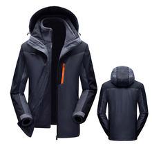 Мужская и женская зимняя Лыжная куртка 2 в 1 комплект из двух