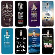 Soft Phone Cases for Xiaomi Mi Note Max 2 3 4 5 5S 5X 6 6X 8 9 SE A1 A2 Lite Plus Shell Fundas Inscription Quote Motivation(China)