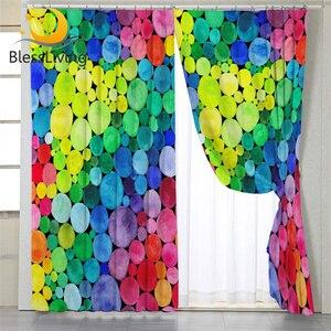 BeddingOutlet Colorful Curtain