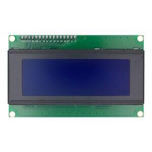 LCD2004 + I2C 2004 20x4 2004A синий/зеленый экран HD44780 символ LCD /w IIC/I2C серийный интерфейс адаптер модуль для arduino