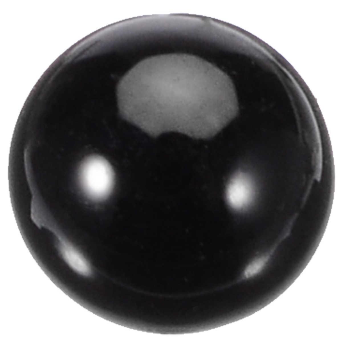 בעלי החיים עיני אביזרי 2mm / 3mm / 4mm אופציונלי עבור בובת העין קישוט אמנויות DIY מלאכות פלסטיק זכוכית בובת עיני