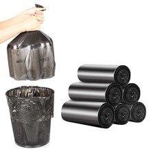 Пластиковые мешки для мусора удобная очистка окружающей среды мешок для мусора мешки для мусора плоский пакет для мусора дома практичный пакет для мусора 1 рулон