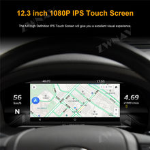 "12.3 ""LCD Android 7 Car Instrument Dashboard Display Head Unit GPS Navigation For TOYOTA LAND CRUISER 2010-2019 Multimedia(China)"