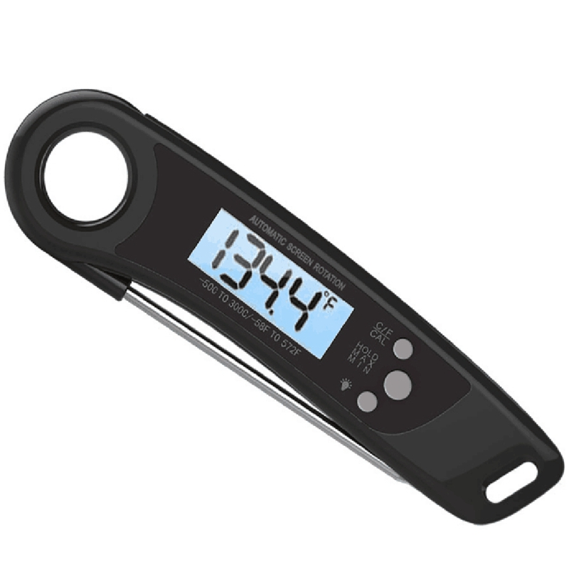 Waterproof Digital Instant Read Meat Thermometer, Best Super Fast Electric Meat Thermometer Probe For Cooking Food Candy,Bbq Gri