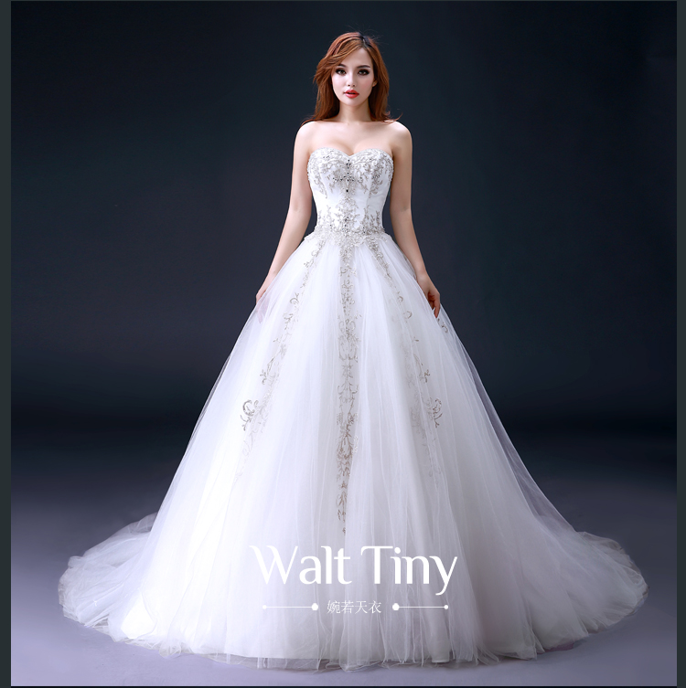 Vestido De Noiva 2018 Sexy Sweetheart Vintage Bridal Ball Gown Crystal Beading Robe De Mariage Mother Of The Bride Dresses