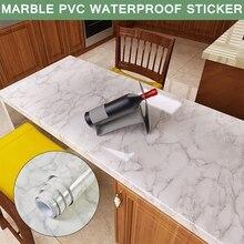 Self Adhesive Marble Wallpapers Waterproof Marble Pattern Wall Stickers Protect Desktop Self-adhesive Countertop Marble Stickers