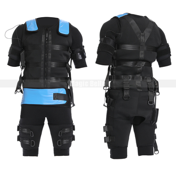 цена на EMS Muscle Stimulator Wireless Body Buttocks Hip Abdominal Fitness Slimming Training Suit