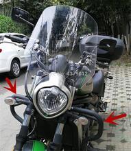 Haute qualité Crash Bar cadre pare chocs Refit Protection barre Protection garde pour kawasaki Vulcan S 650 EN650 VN650 s650 2015   2020