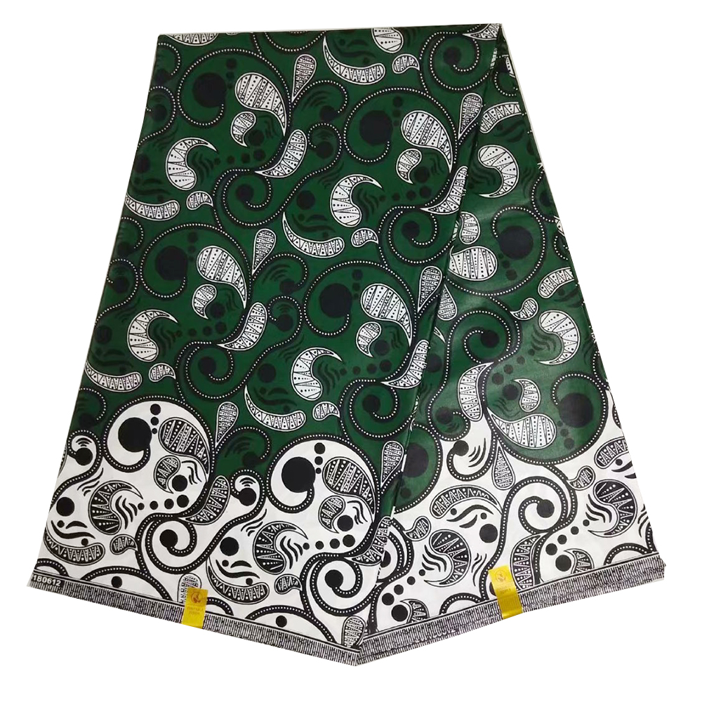 100% Cotton Wax Brocade Prints Real Nigerian New Java Wax,African Beautiful Fabric Ankara Wax Fabric Luxurious Design For Women