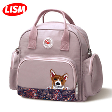 Diaper Bag Lightweight Backpack Large Capacity Mother Multi-function Waterproof Outdoor Travel Diaper Bags For Baby Care School недорого