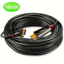 Lange HDMI Kabel 2,0 Optische Faser HDMI 4k 60Hz 18Gbps 5m 10m 15m 20m 30m 50m Alle unterstützung hdmi 2,0 4K für HDR TV LCD Laptop PS4