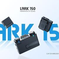 Hollyland-micrófono Lavalier inalámbrico LARK 150 Duo Solo, caja de carga de 2,4G Hz para cámara DSLR, teléfonos inteligentes, iPone, Android