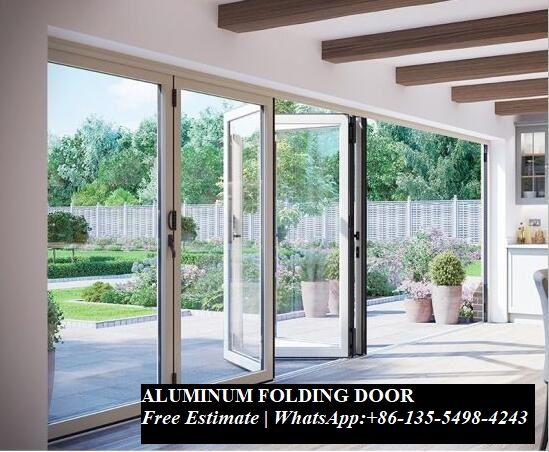 Interior Room Dividers Soundproof Insulated Glass Aluminium Bi-Folding Doors,Bi Fold Doors For Living Room