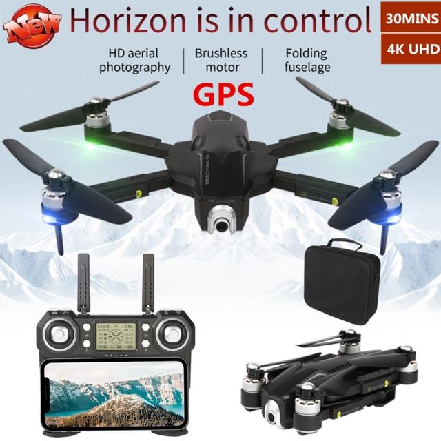GPS 4K Suivez-moi Photographie Aérienne WIFI FPV Drone 5G 30 MINUTES Sans Brosse Profissional Flux Optique RC Quadrirotor VS SG906 K1 F11