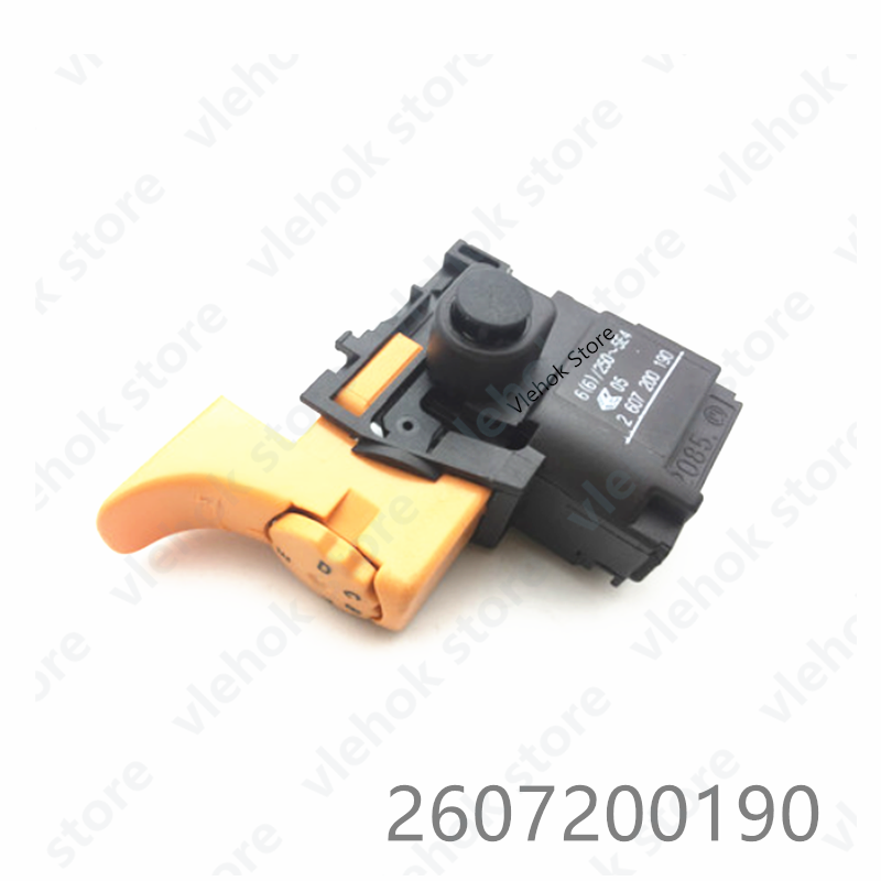Switch For BOSCH GST80PBE GST85PBE CSB650-2RE CSB700-2RE PSB680-2RE CSB680-2RE CSB6-20RE 2607200190 Power Tool Accessories Part