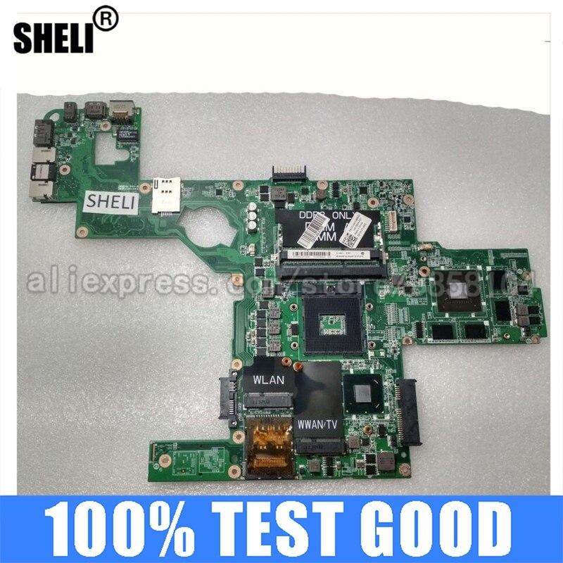 Материнская плата SHELI для ноутбука Dell L502X HM6 с GT540M 2G DAGM6CMB8D0 714WC 0714WC CN-0714WC материнская плата 100% Teested Good DDR3