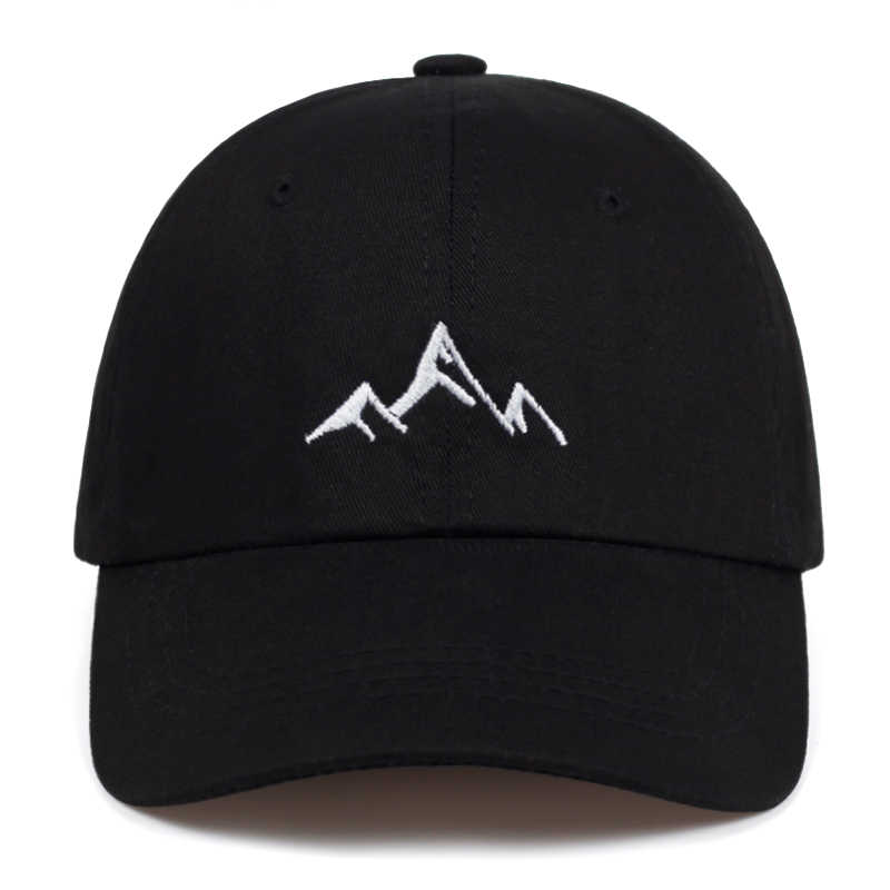 2019 new high quality Mountain embroidery baseball cap men women bone trucker hats fashion 100%cotton Hiphop Caps dad hat