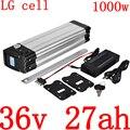 Батарея для электрического велосипеда  36 В  500 Вт  1000 Вт  батарея для Ebike  36В  10ач  13ач  14ач  17ач  20ач  25ач  27ач  литиевая батарея для LG