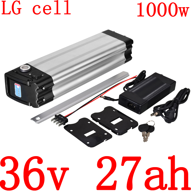 36V Electric Bicycle Battery 36V 500W 1000W Ebike Battery 36V 10AH 13AH 14AH 17AH 20AH 25AH 27AH Lithium Battery use LG cell