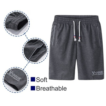 Summer Shorts Men Fashion Brand Breathable Male   5