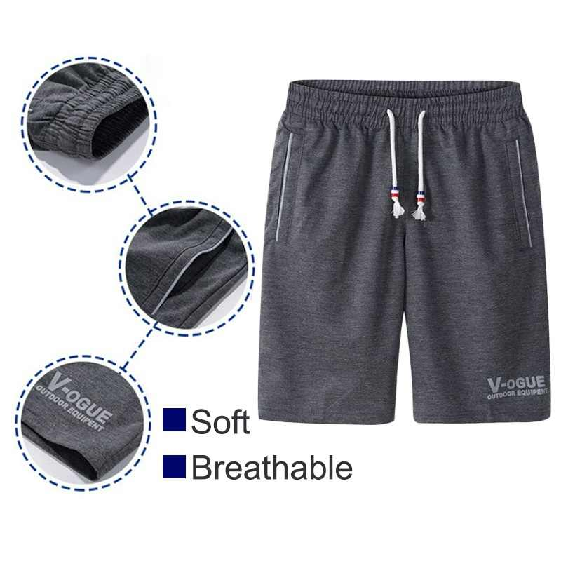 Sommer Shorts Männer Mode Marke Boardshorts Atmungsaktiv Männlichen Casual Shorts Komfortable Plus Größe Fitness Mens Bodybuilding Shorts