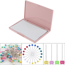 Holder Cross-Stitch Sewing Knitting Container-Tool Organizer Case Pin-Needle-Storage