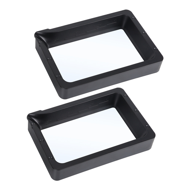 ANYCUBIC 2Pcs UV Resin Vat Tank For Photon Mono, 3D accessories, Material Rack 4
