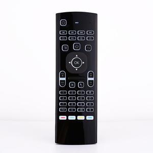 Image 2 - 2.4Ghz airmouse MX3 אוויר עכבר אלחוטי מקלדת + קול עבור אנדרואיד מיני מחשב הטלוויזיה תיבת תאורה אחורית שלט רחוק