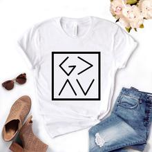 T Shirt Gift Lady Yong Girl Top Tee God Is Greater Than The