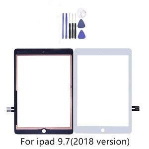 Для iPad 9,7 (версия 2018), для iPad 6 6-го поколения A1893 A1954, сенсорный экран, дигитайзер, передняя внешняя панель, стекло с 2 подарками