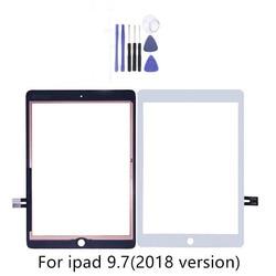 Dla iPad 9.7 (wersja 2018) dla iPad 6 6th Gen A1893 A1954 ekran dotykowy Digitizer przedni Panel zewnętrzny szkło z 2 prezenty w Ekrany LCD i panele do tabletów od Komputer i biuro na