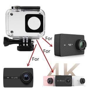 Image 5 - Anordsem Diving 40m Waterproof Case for Xiaomi YI 4k/4k+/yi lite Camera Mount Protective Housing Case